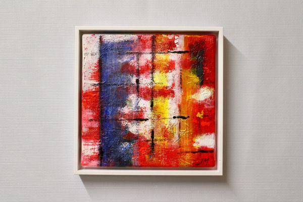 Gefühlswelt (20 x 20, mit Rahmen, 160 CHF)