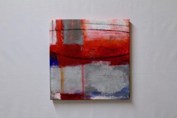 Sehnsucht (40 x 40, ohne Rahmen, 420 CHF)