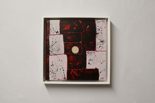 Stimmung in der Nacht (20 x 20, mit Rahmen, 160 CHF)
