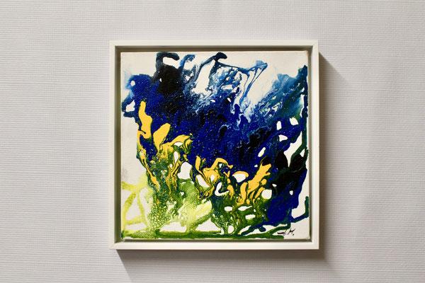 Frühlingserwachen 1 (20 x 20, mit Rahmen, 160 CHF)