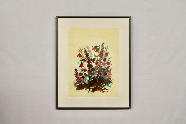 Blumen 4 (40 x 50, mit Rahmen, 420 CHF)