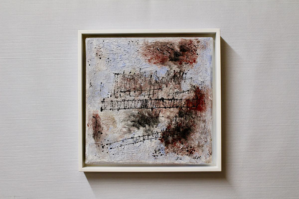 Winter im Ried (20 x 20, mit Rahmen, 160 CHF)