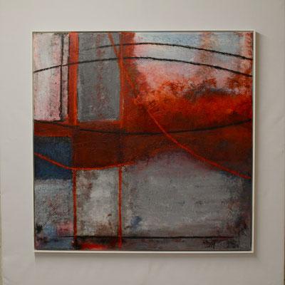 Sehnsucht (90 x 90, mit Rahmen, 1'100 CHF)