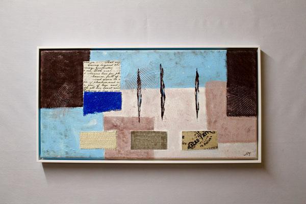 Inspiration am Wasser (30 x 60, mit Rahmen, 480 CHF)