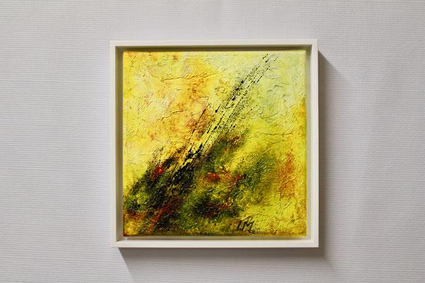 Frühlingserwachen 2 (20 x 20, mit Rahmen, 160 CHF)