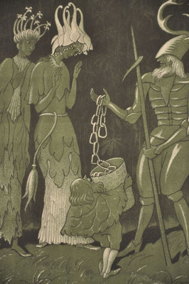 Ernst Kreidolf encadrement sur mesur