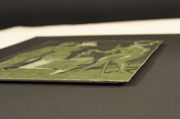 encadrement lithographie art