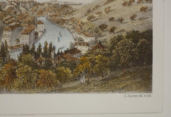 Bern - J.Jacottet del. et lith.