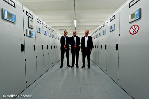 Umspannwerk Seewiesen der Stuttgarter Netze Betrieb GmbH in Zuffenhausen