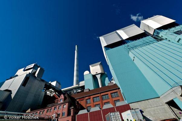 Restmüll-Heizkraftwerk der EnBW in Stuttgart-Münster