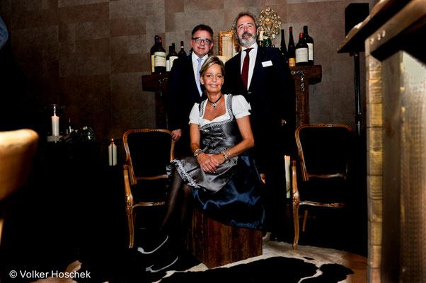 Guido Wolf, Wirtin Anne Hannich, Wolfgang Kuhn