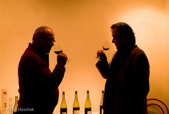 Weingut Graf Adelmann - Degustation zur Zusammenstellung eines neuen Cuvées