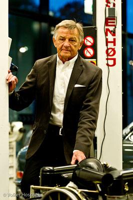 Hans Mezger, Ingenieur und ehemaliger Leiter der Porsche-Motorsportabteilung