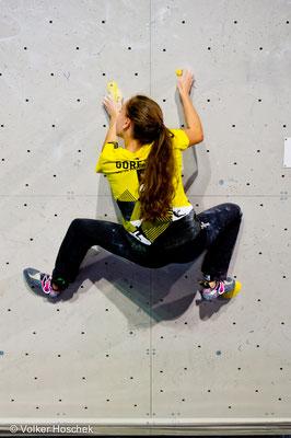 Finale des GORE-TEX Be a Rockstar Amateur-Boulder-Wettbewerbs in der Porsche-Arena
