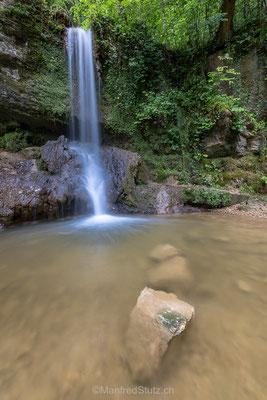 Höchster Wasserfall im Kanton Aargau (5,40m)