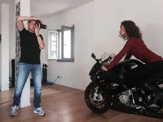 Martin Boelt with Model Marina Komesarovic