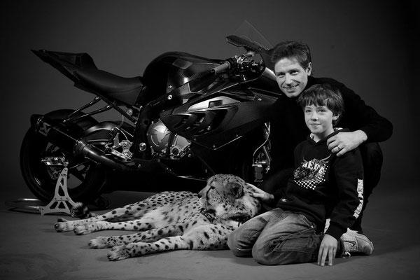 With Tim & Cheetah