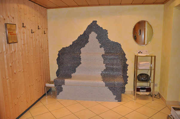 Ruheraum - Sauna - Beheizbare Bank