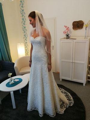 Brautkleid NEU   Größe: 36/38   Wolke2 Preis: 780,- Euro