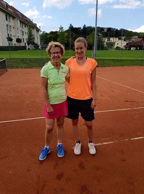 Clubmeisterin Einzel: Anneliese Gaberelll