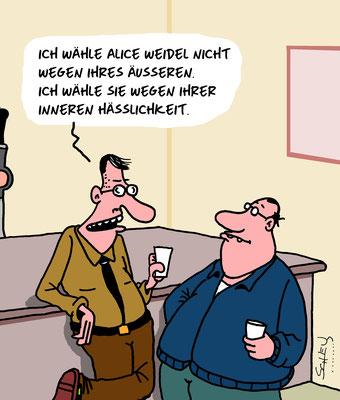 © Karsten Schley – Wahlkampf, Wahl, Wähler, rechtes Spektrum