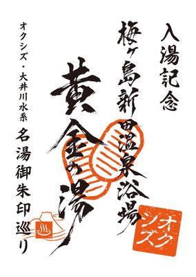 オクシズ・大井川水系 名湯御朱印巡り-梅ヶ島新田温泉浴場 黄金の湯