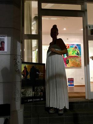 Juli-August 2018: Pam Jonas X Nauwieser Viertel Saarbrücken, Nauwieser 19