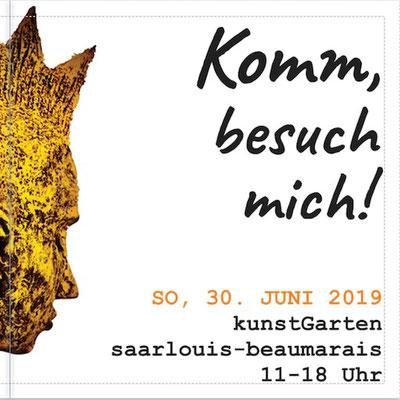 Juni-August 2019: Pam Jonas X kunstGarten Saarlouis-Beaumarais