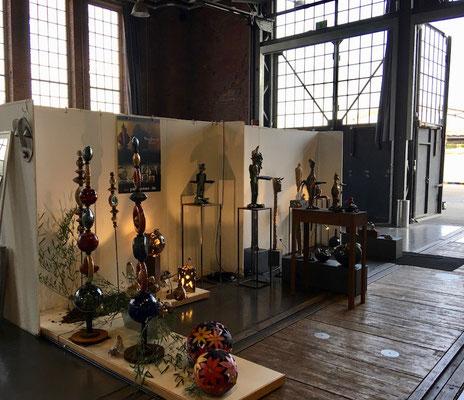 Mai 2018: Pam Jonas X LokSchuppen Dillingen, Dillinger Kunsthandwerkermarkt 2018