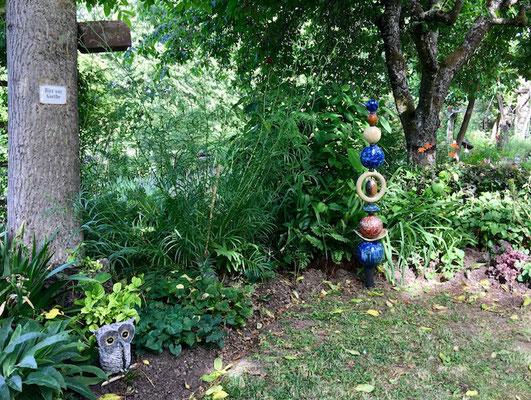 Juni 2017: Pam Jonas X Hilts Garten, Offene Gärten 2017: Verschiedene Outdoor-Werke von Pam Jonas im wunderschönen Garten der Eheleute Hilt