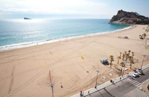 photo plage de benidorm