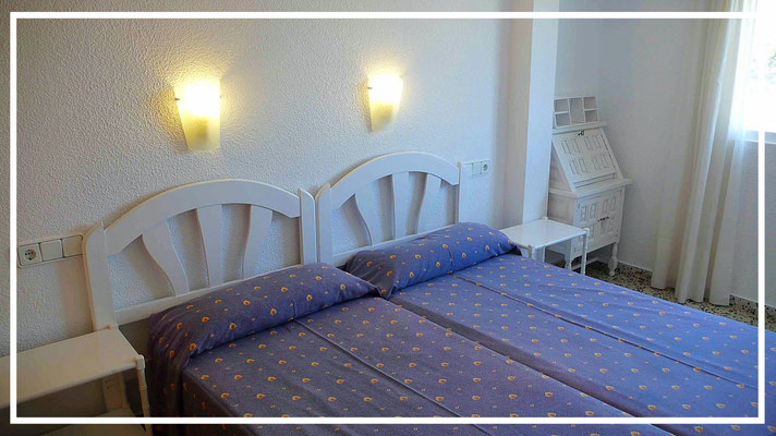 bedroom apartment nere benidorm