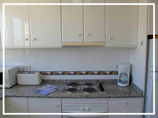 kitchen apartment nere benidorm