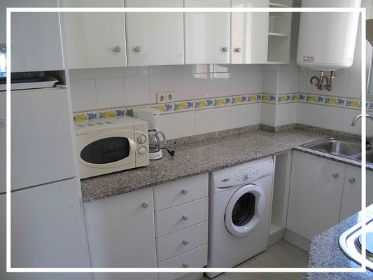 kitchen apartment ulia 6 people