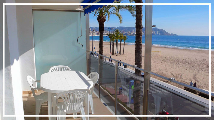 sea view apartment ulia benidorm