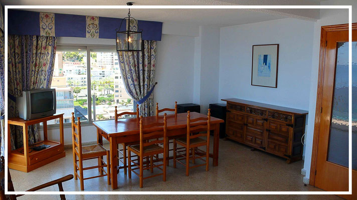 salon appartement location benidorm maria crisrina beach