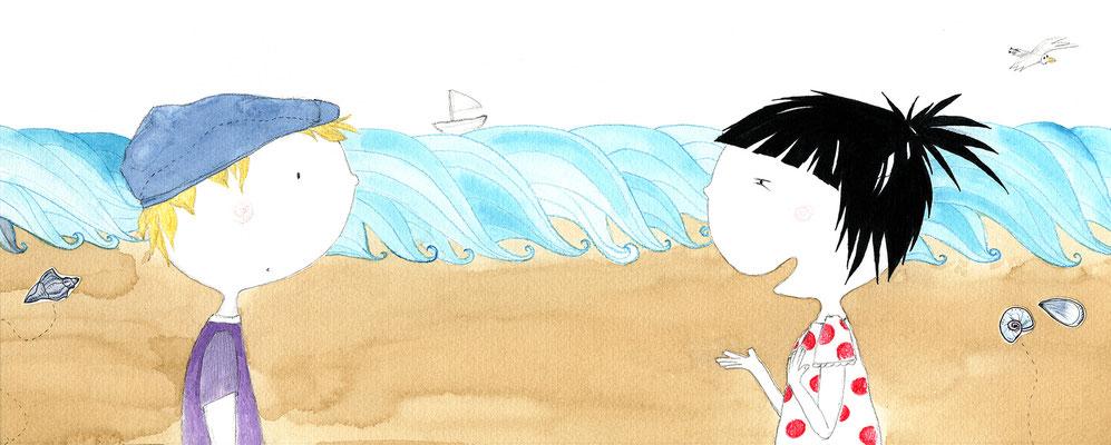 'Linus und die Sonnenmuschel', Papperlapapp Magazin