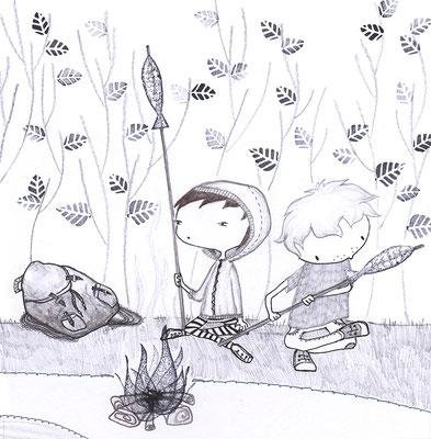 aus 'Geschichten von Jana', Tyrolia Verlag