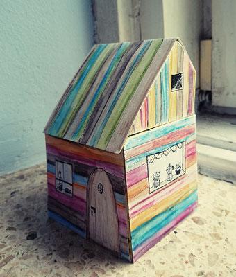 Wer wohnt hier? Vorarbeit zum Kinderbuch 'Bartholomäus Blumenbart hat eine Meise'
