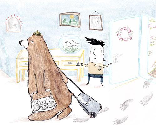 'Ich habe einen Bären zuhause' (unveröffentlicht)