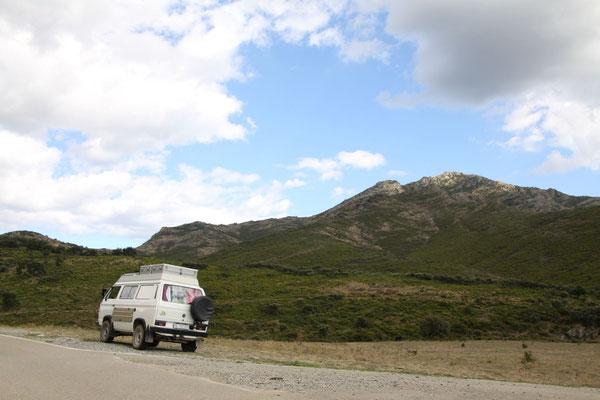 In Richtung Col de Banyuls (Grenze zu Frankreich).