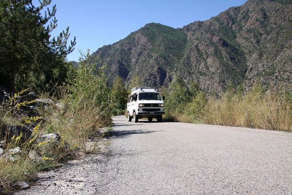 Auf dem Weg in Richtung Andorra...