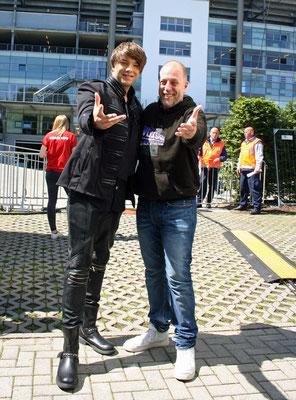 Kevin und Lotto King Karl ( Deutscher Musiker sowie TV- und Radiomoderator )