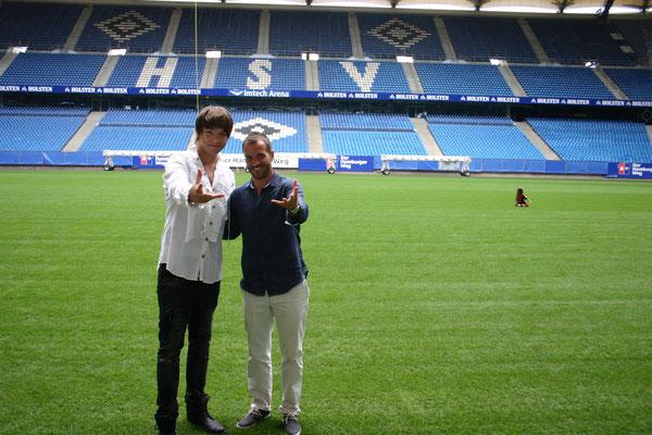 Kevin und Rafael van der Vaart