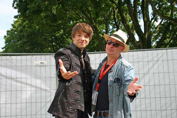Kevin und Carsten Pape ( Hamburger Sänger und Songwriter )