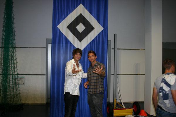 Kevin und Rene Adler