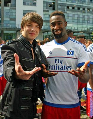 Kevin und Johan Djourou