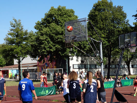 Streetball Challenge ist traditionell ein Mixed-Turnier