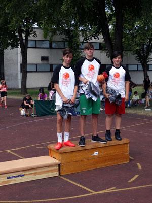 Unsere MVPs: Roberto, Joel und Ardit
