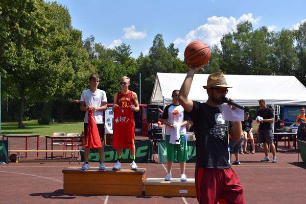 MVP wird Bedru vom Team Balkan